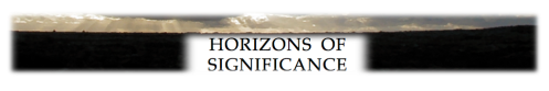 Horizons of Significance footer