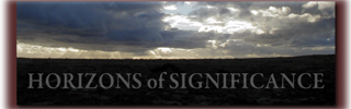 Horizons of Significance Header rust footer